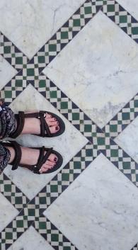 Marrakesch Palais de Bahia Boden
