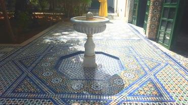 Marrakesch Palais de Bahia Brunnen