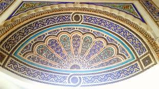 Marrakesch Palais de Bahia Decke
