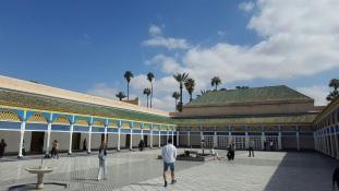 Marrakesch Palais de Bahia Innenhof
