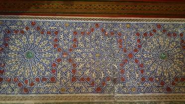 Marrakesch Palais de Bahia Sterne