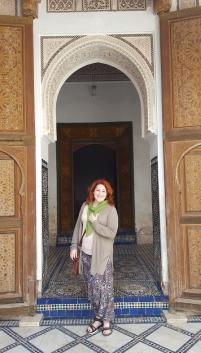 Marrakesch Palais de Bahia Tür