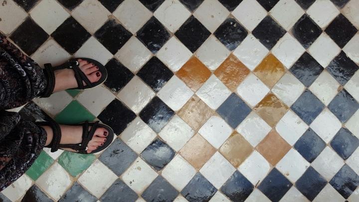 Marrakesch Schöner Fliesenboden
