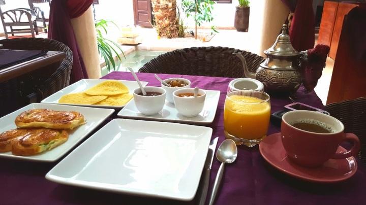 Marokkanische Gaumenfreuden –Frühstück