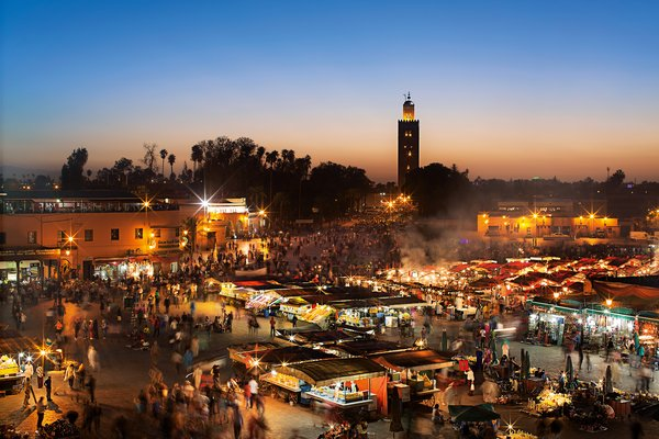 Marokkanische Gaumenfreuden – Mittag- undAbendessen