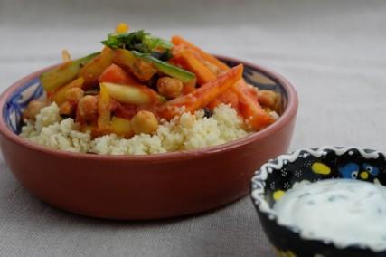 Gemüse Tajine mit Couscous