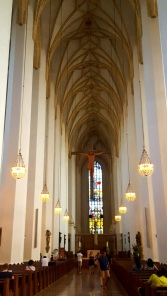 München Frauenkirche innen