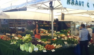 München Viktualienmarkt Gemüse