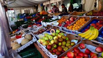 München Viktualienmarkt Obst