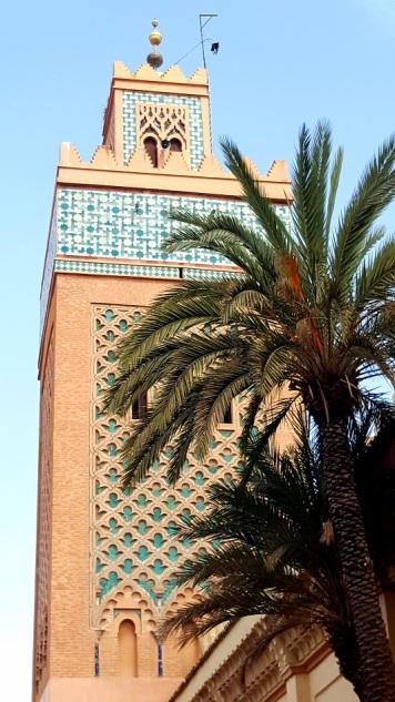 Moschee Moulay El Yazid Minarett