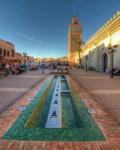 Moschee Moulay El Yazid mit Brunnen