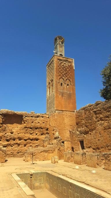 Minarett in der Chellah