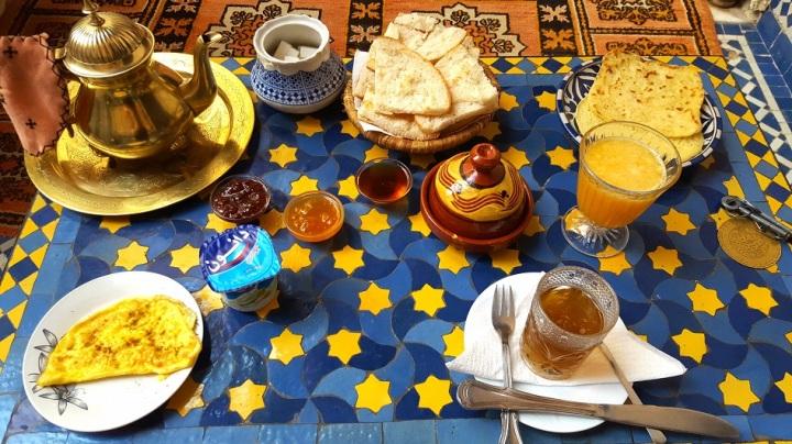 Frühstück Riad Fes Baraka