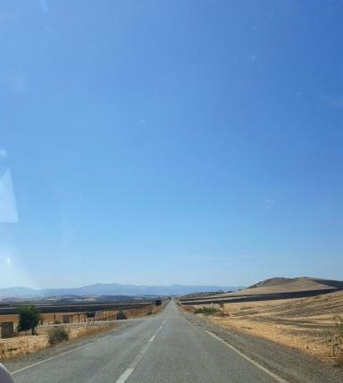 Landstraße nach Fes