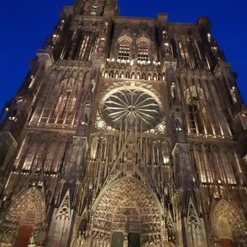 Münster zur blauen Stunde