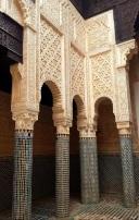 Medersa Säulen