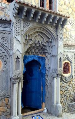 Chefchaouen Tür