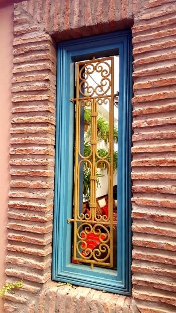 Marrakesch Jardin Majorelle Fenster