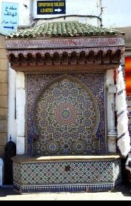 Rabat Brunnen in der Medina