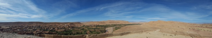 Ausblick Panorama mit Mausoleum