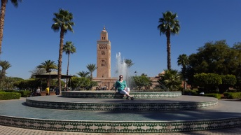 Brunnen im Lalla Hasna Park