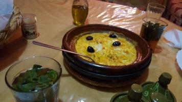 Essen bei Chez Ibrahim