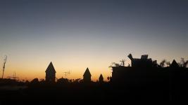 Marrakesch Dar Daoud Dachterrasse