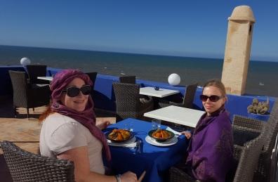 Mittagessen im Palis des Remparts