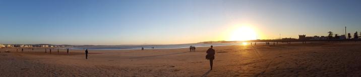 Panorama am Strand