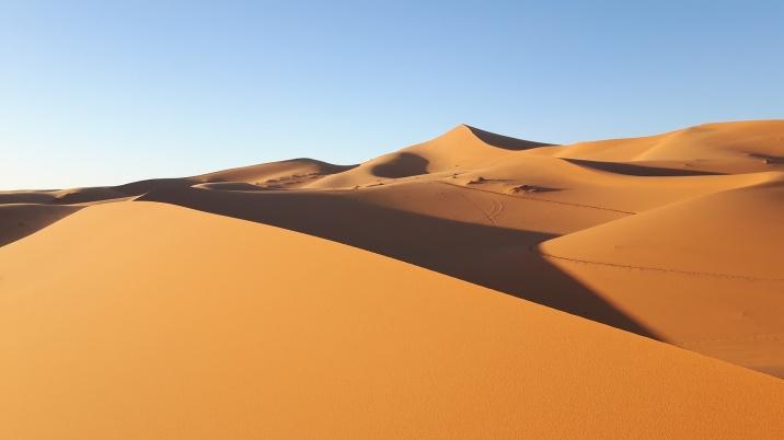 Sonnenuntergang in der Wüste 2. Tag 3
