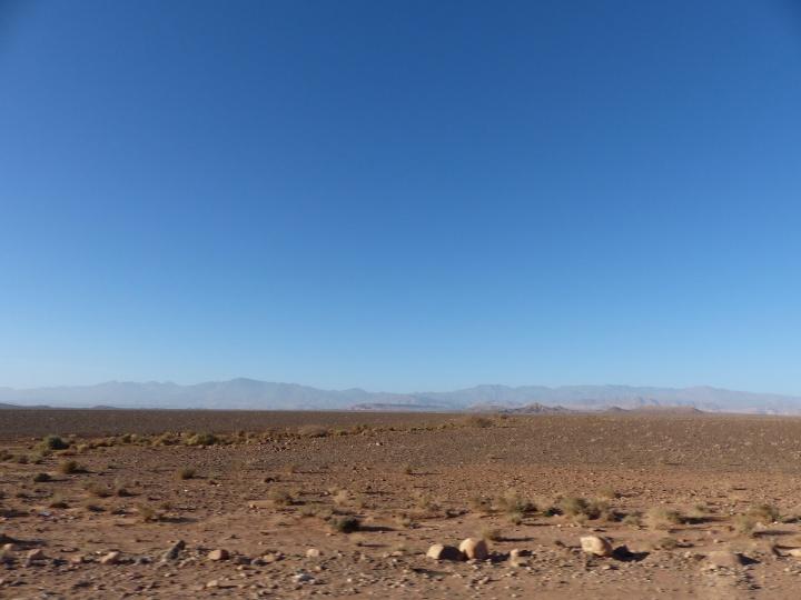 Weg nach Ouarzazate