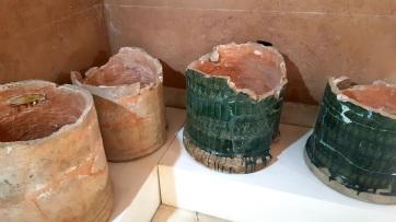 Ausstellung Artefakte aus Ton