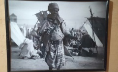 Ausstellung Wasserhändler auf dem Djemaa el Fna