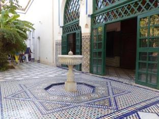 Bahia Palast Brunnen