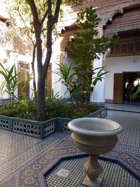 Bahia Palast Eingangsbereich