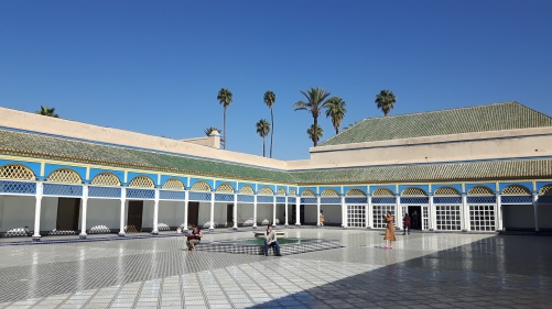 Bahia Palast Innenhof