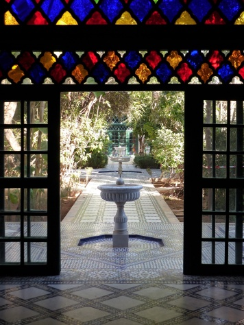 Bahia Palast von innen nach aussen
