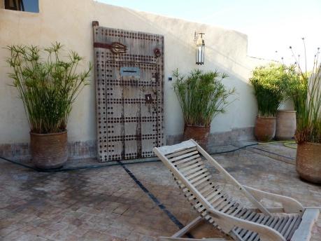 Fes Riad Maison Maure Dachterrasse