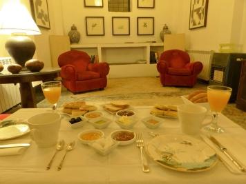 Fes Riad Maison Maure Frühstück