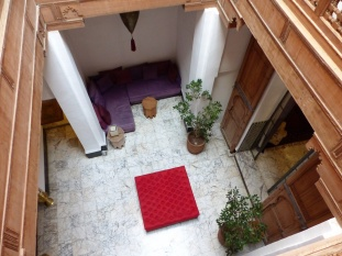 Fes Riad Maison Maure Lichthof 2