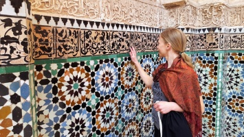 Marrakesch Medersa Ben Youssef Frauke