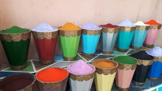 Marrakesch Souk Farbe