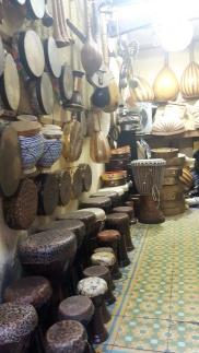 Marrakesch Souk Trommeln