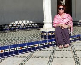 Marrakesch Bahia Palast Julia
