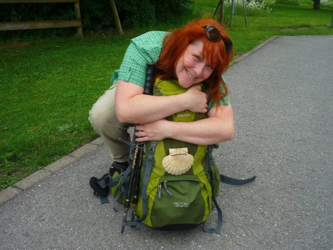Ich und mein Rucksack