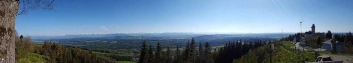 Panorama Hohenpeißenberg