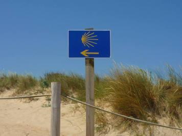 Wegweiser Strand