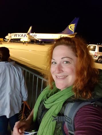 002 Selfie mit Flugzeug