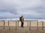 002 Strand, Rucksack und ich