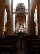 005 Kathedrale Porto von innen mit Tanja